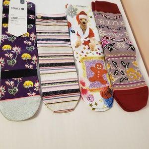 Stance Girls Socks Size L 2-5.5
